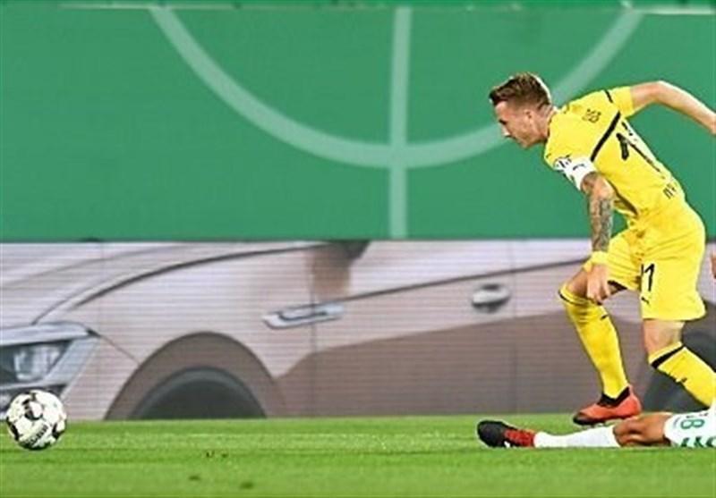 جام حذفی آلمان، دورتموند در آخرین ثانیه ها از شکست پیروزی ساخت
