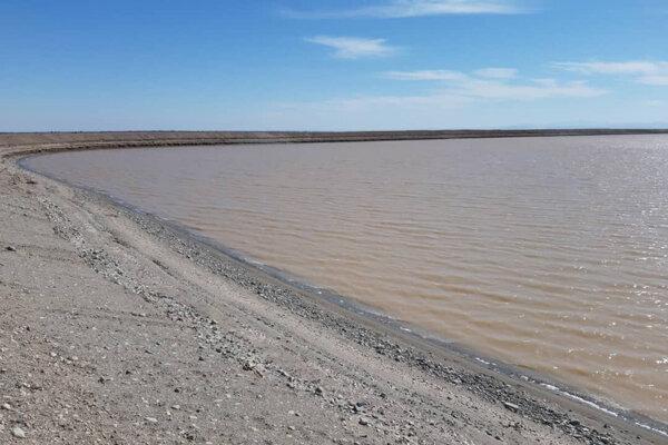 افتتاح سیزدهمین سد خاکی سیمانی در منطقه کویری ریگان