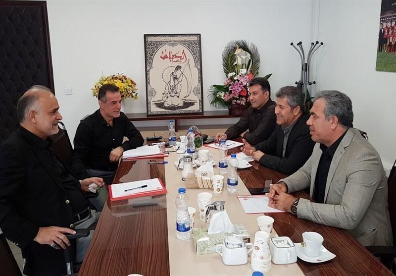 جلسه هیئت مدیره و مدیرعامل باشگاه پرسپولیس برگزار گردید