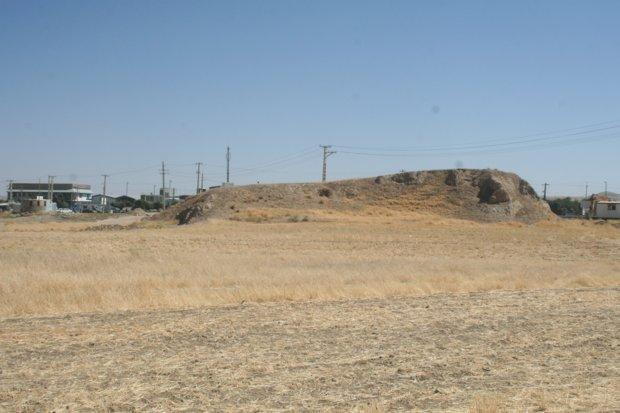 حدس برای جلوگیری از تخریب بیشتر یک تپه6000ساله