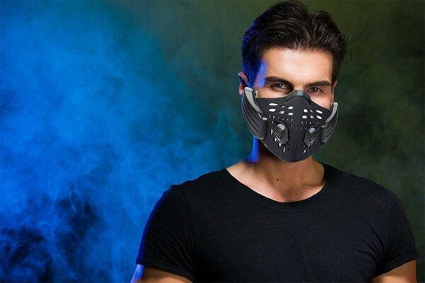 ماسک فیلترداری که موسیقی پخش می کند