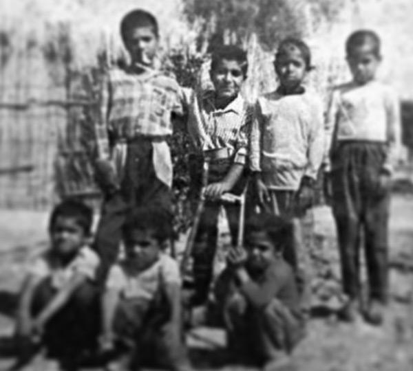 عکس رضا صادقی در کودکی