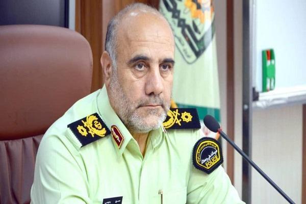 واکنش رئیس پلیس تهران به فیلم هل دادن متقاصیان واکسن توسط یک مامور
